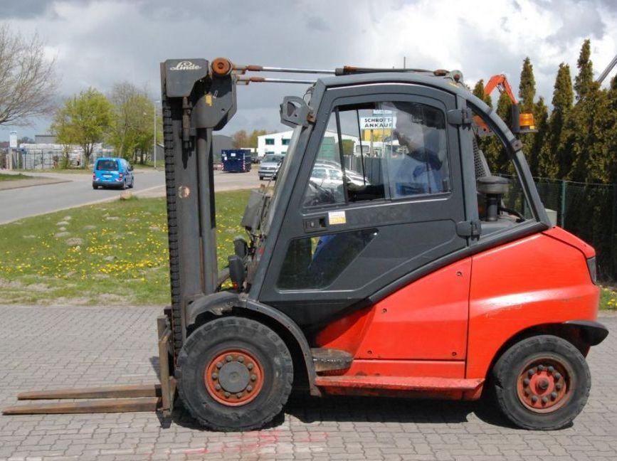 Linde H45D Dieselstapler www.hinrichs-forklifts.com