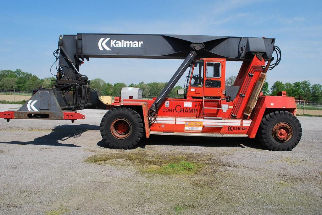 Kalmar-DC4561SRS4-Vollcontainer Reachstacker