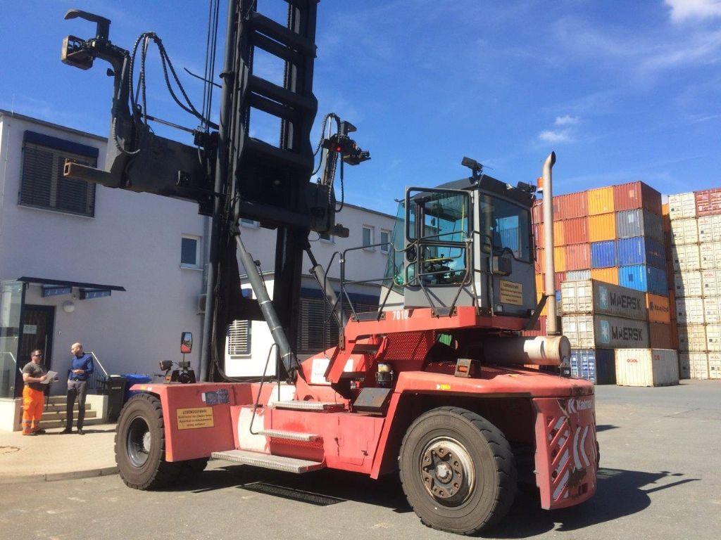 Kalmar-DCF100-45E7-Leer Containerstapler
