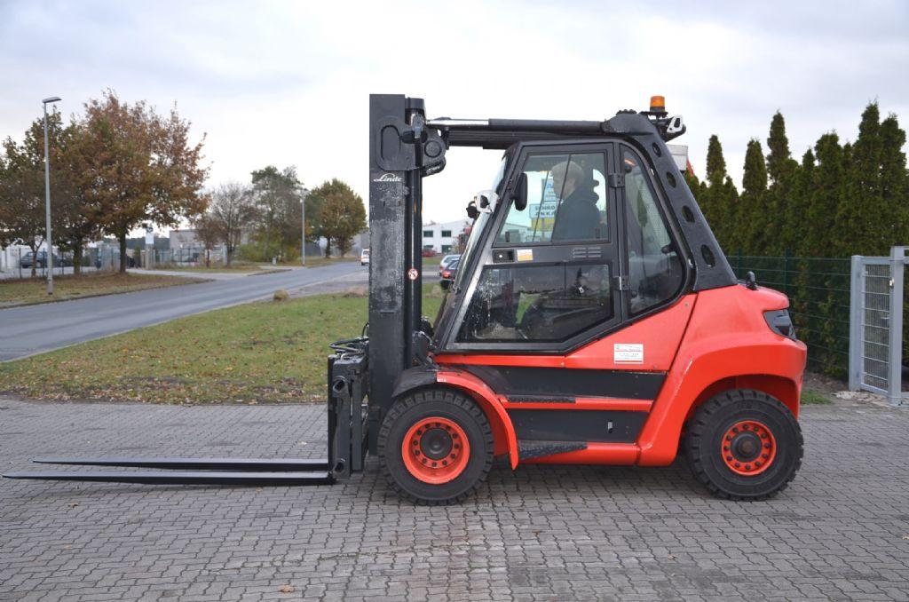 Diesel Gabelstapler-Linde-H80D