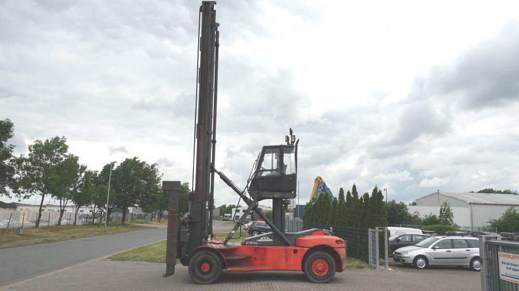 Linde C80/6 Leer Containerstapler www.hinrichs-forklifts.com