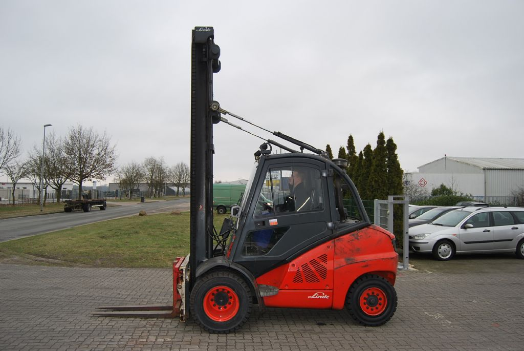 Linde H50D Dieselstapler www.hinrichs-forklifts.com