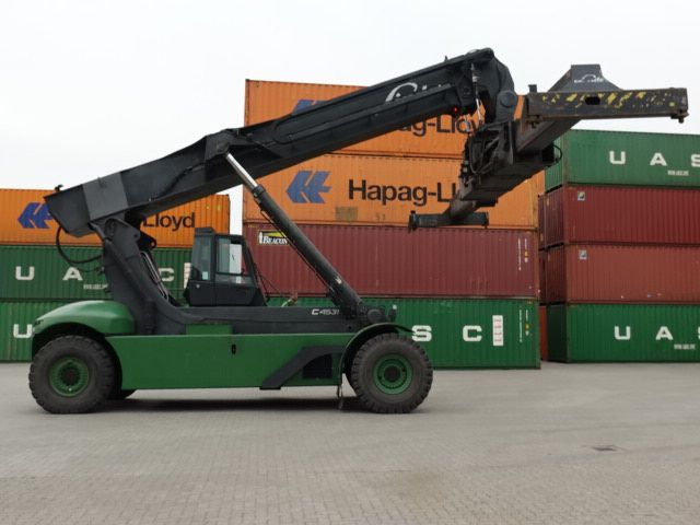 Linde-C4531TL-Vollcontainer Reachstacker
