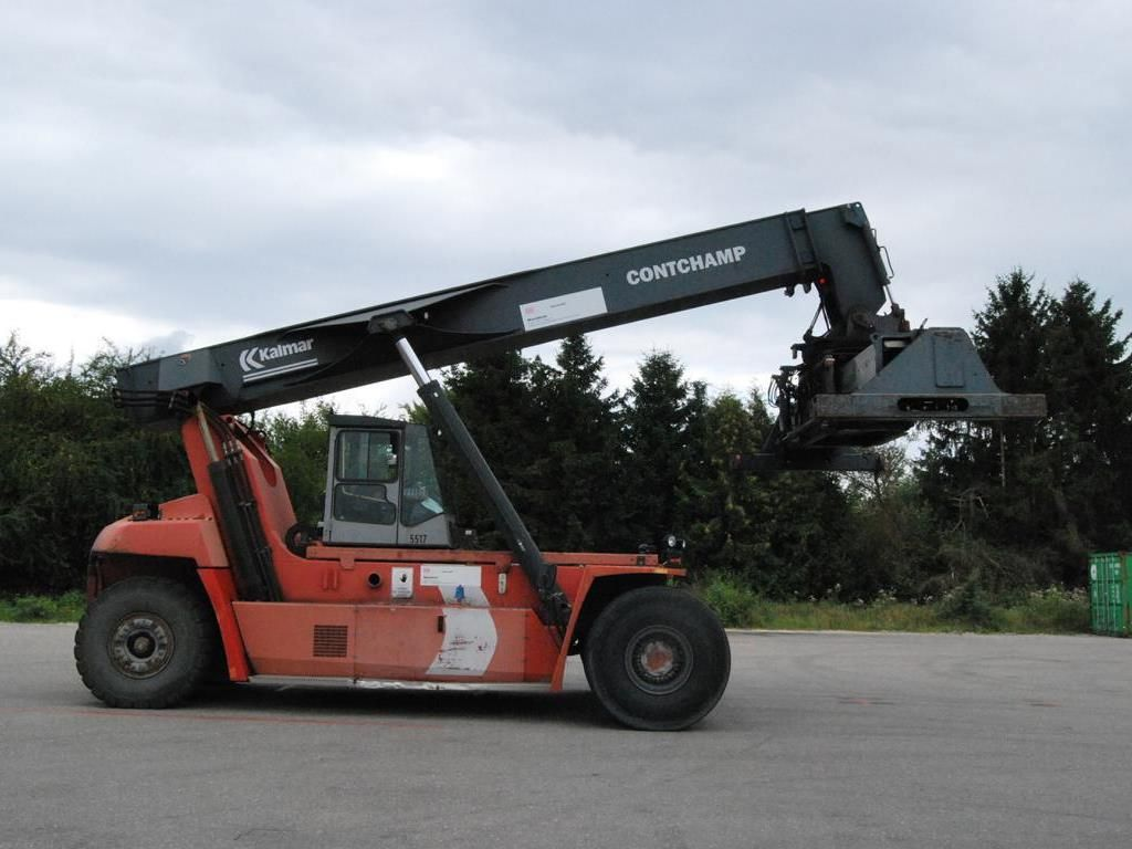 Kalmar-DRF420-60S5-Vollcontainer Reachstacker