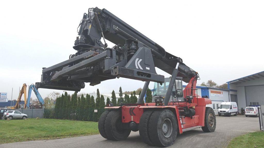 Kalmar-DRF450-60C5X-Vollcontainer Reachstacker www.hinrichs-forklifts.com