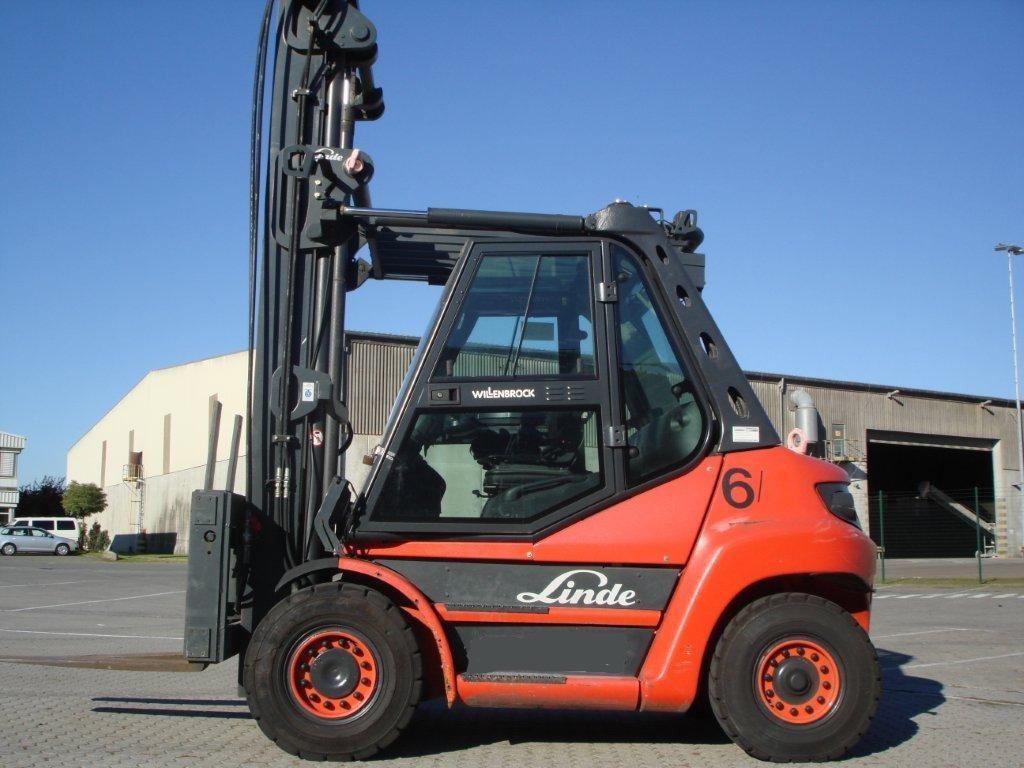 Diesel Gabelstapler-Linde-H70D
