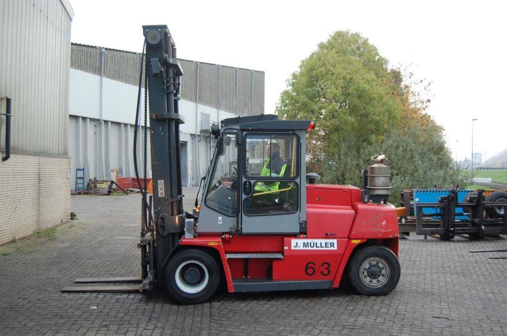 Kalmar DCE80-6 Dieselstapler www.hinrichs-forklifts.com