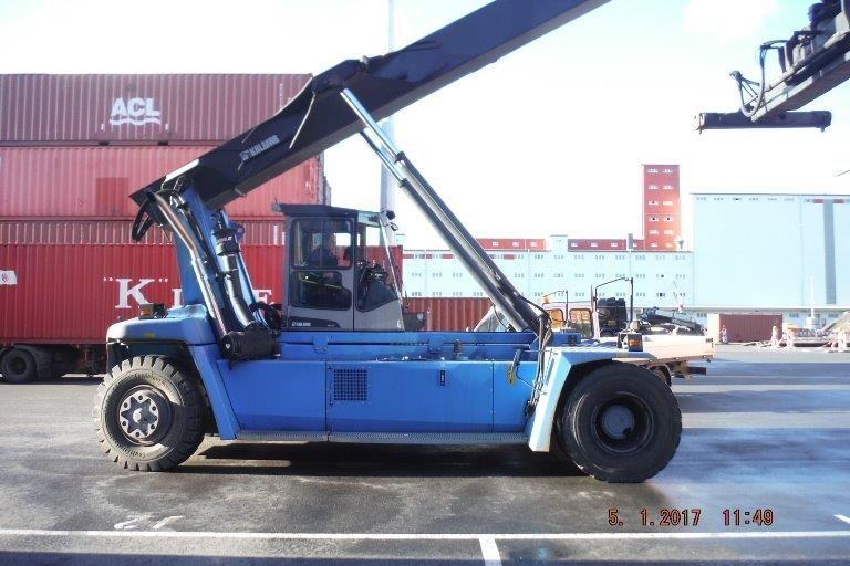 Leer Container Reachstacker-Kalmar-DRF100-54S6