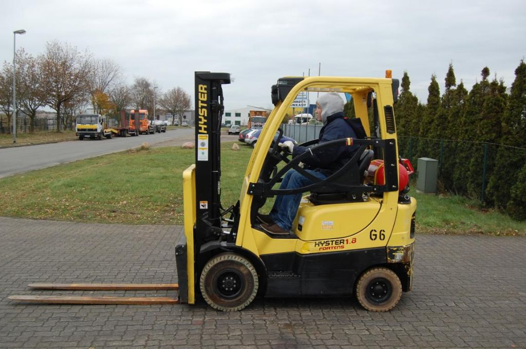 Hyster H1,8FT Treibgasstapler www.hinrichs-forklifts.com