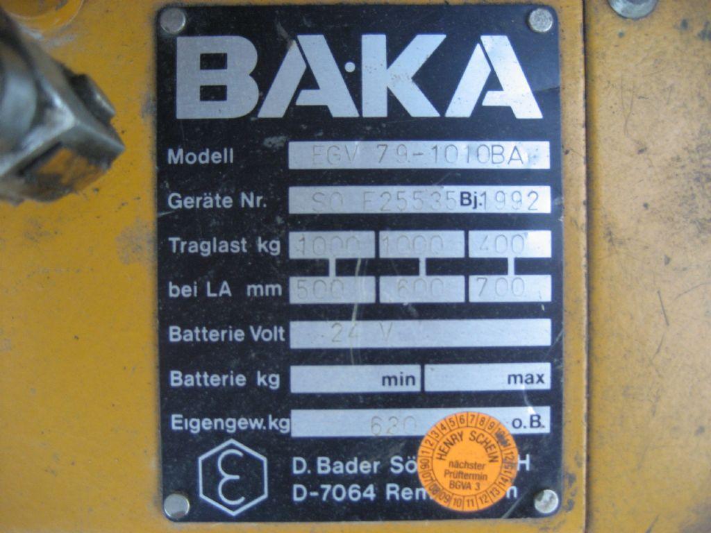 Baka-EGV 69-1010 BA-Deichselstapler-www.team-hosta.de