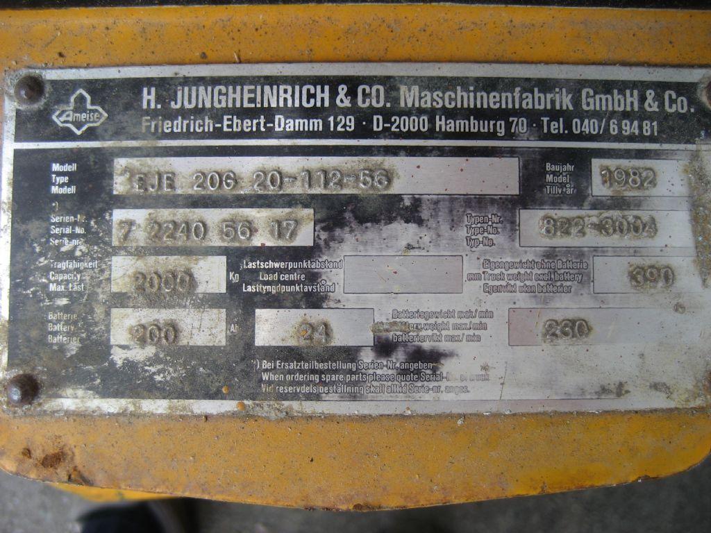 Jungheinrich-Elektro-Geh-Gabelhubwagen EJE 20 C-Niederhubwagen-www.team-hosta.de