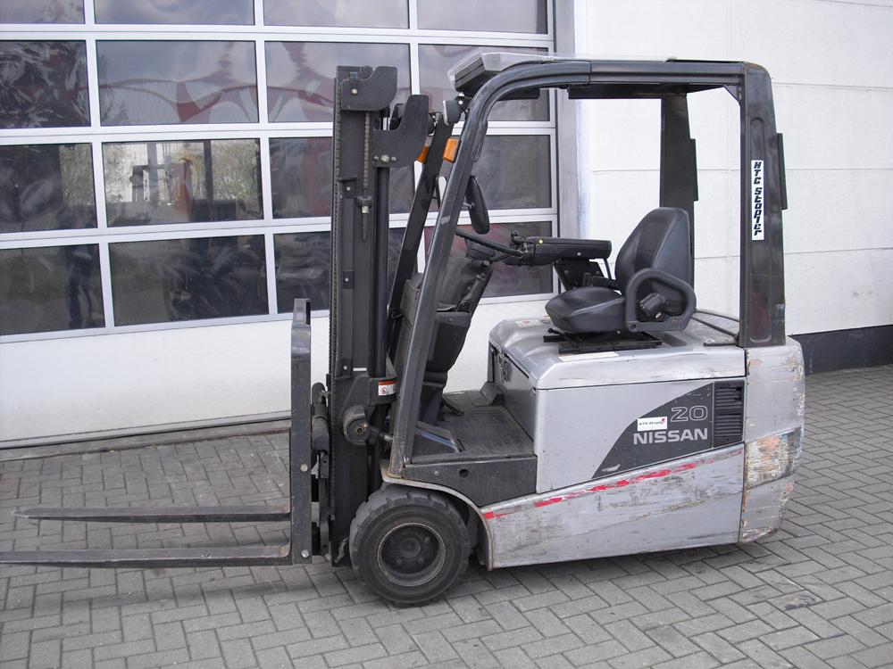 Nissan-TX-20  G1N1L20Q-Elektro 3 Rad-Stapler-http://www.htc-stapler.de