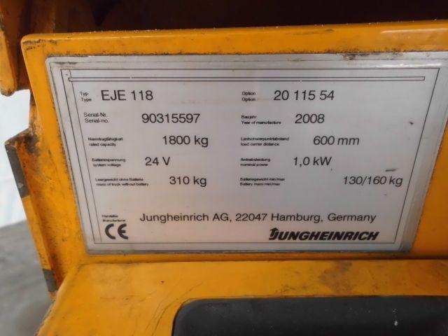 Jungheinrich-EJE 118-Niederhubwagen http://www.isfort.com