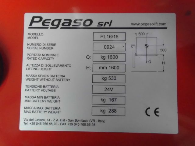 Pegasolift-PL16/16-Hochhubwagen http://www.isfort.com