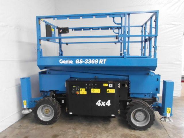 Genie-GS-3369 RT-Scherenarbeitsbühne http://www.isfort.com
