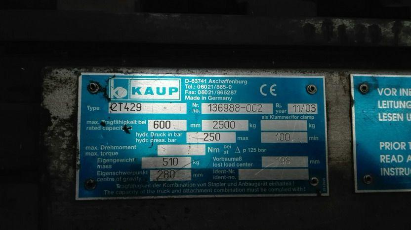 Kaup-2T429-Doppelpalettengabel http://www.kirchner-gabelstapler.de