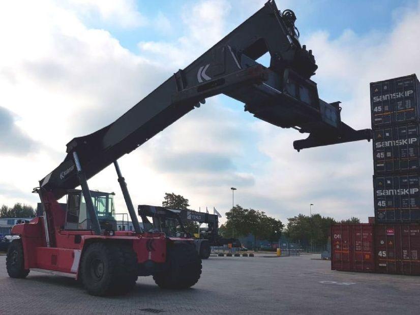 Kalmar-DRF450-65S5L-Vollcontainer Reachstacker-http://www.kleinwort-bittermann.de