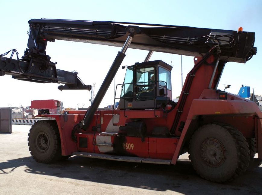 Kalmar-DRF450-60S5-Vollcontainer Reachstacker-http://www.kleinwort-bittermann.de