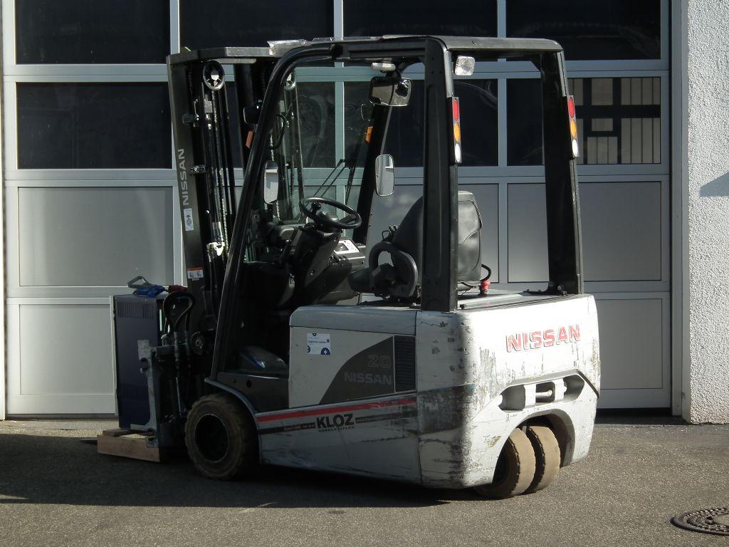 Nissan-G1N1L20Q-Elektro 3 Rad-Stapler-www.kloz-stapler.de