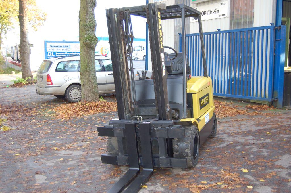 Hyster-J 3.00 XM // 12 Monate UVV abgenommen-Elektro 4 Rad-Stapler-http://www.koop-gabelstapler.de