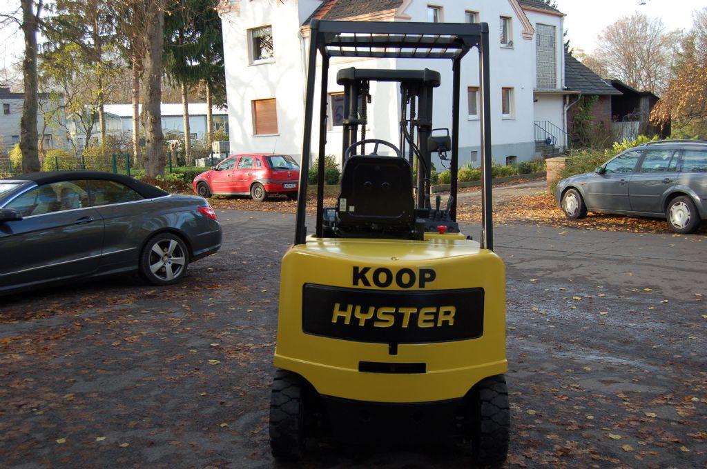 Hyster-J 3.00 XM-Elektro 4 Rad-Stapler-http://www.koop-gabelstapler.de