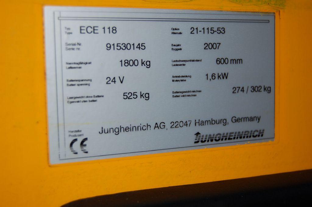 Jungheinrich-ECE 118-Niederhubkommissionierer-www.koop-gabelstapler.de