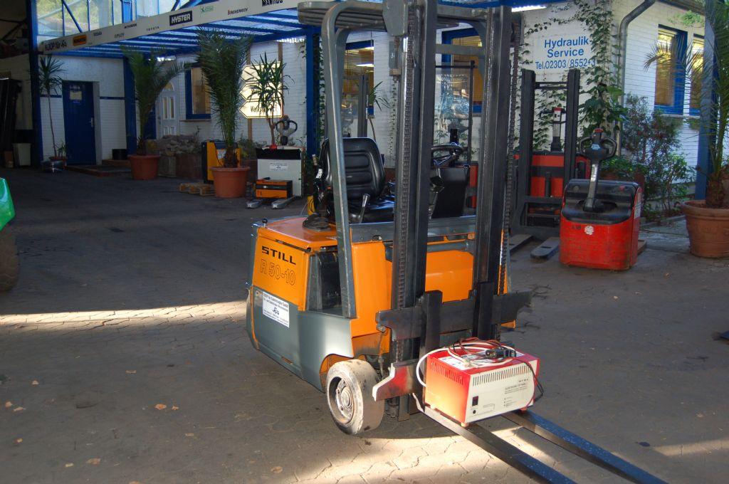 Still-R50-10-Elektro 3 Rad-Stapler-http://www.koop-gabelstapler.de