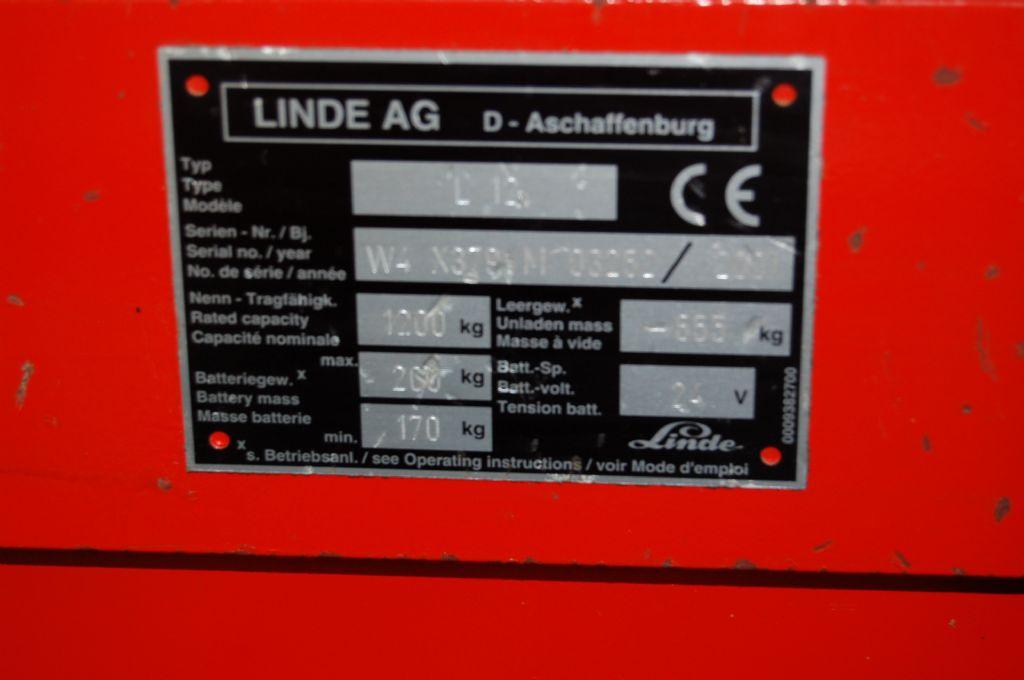 Linde-L 12 // 12 Monate UVV abgenommen-Deichselstapler-http://www.koop-gabelstapler.de