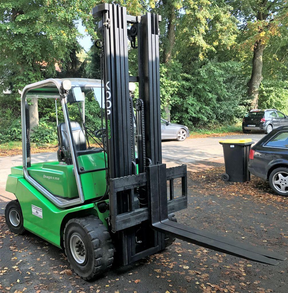 Cesab-DRAGO 350 H // 12 Monate UVV & ASU abgenommen-Dieselstapler-http://www.koop-gabelstapler.de