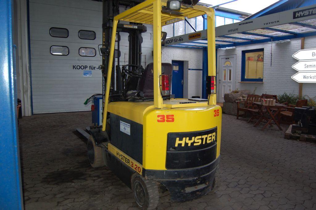 Hyster-E 3.20 XM // UVV 12 Monate abgenommen-Elektro 4 Rad-Stapler-http://www.koop-gabelstapler.de