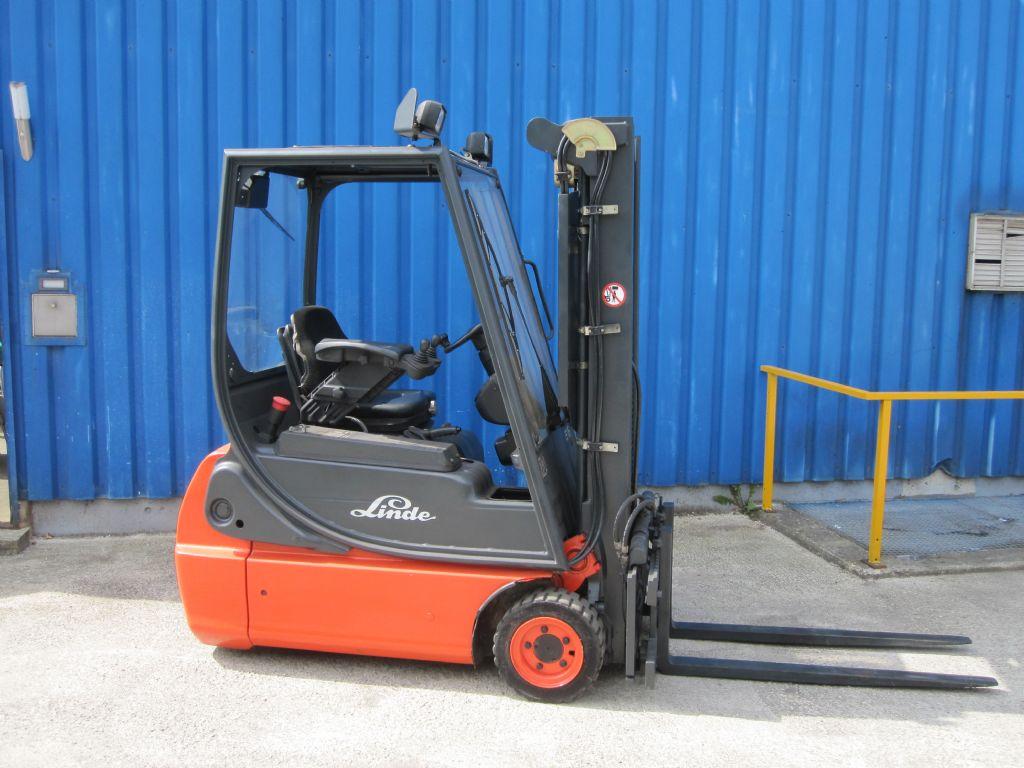 Linde-E16C-02-Elektro 3 Rad-Stapler www.service-gabelstapler.de