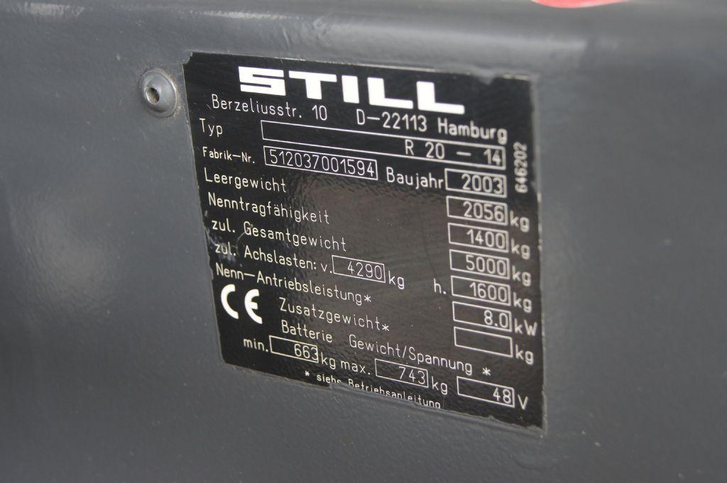 Still-R 20-14-Elektro 3 Rad-Stapler-www.krause-salem.de