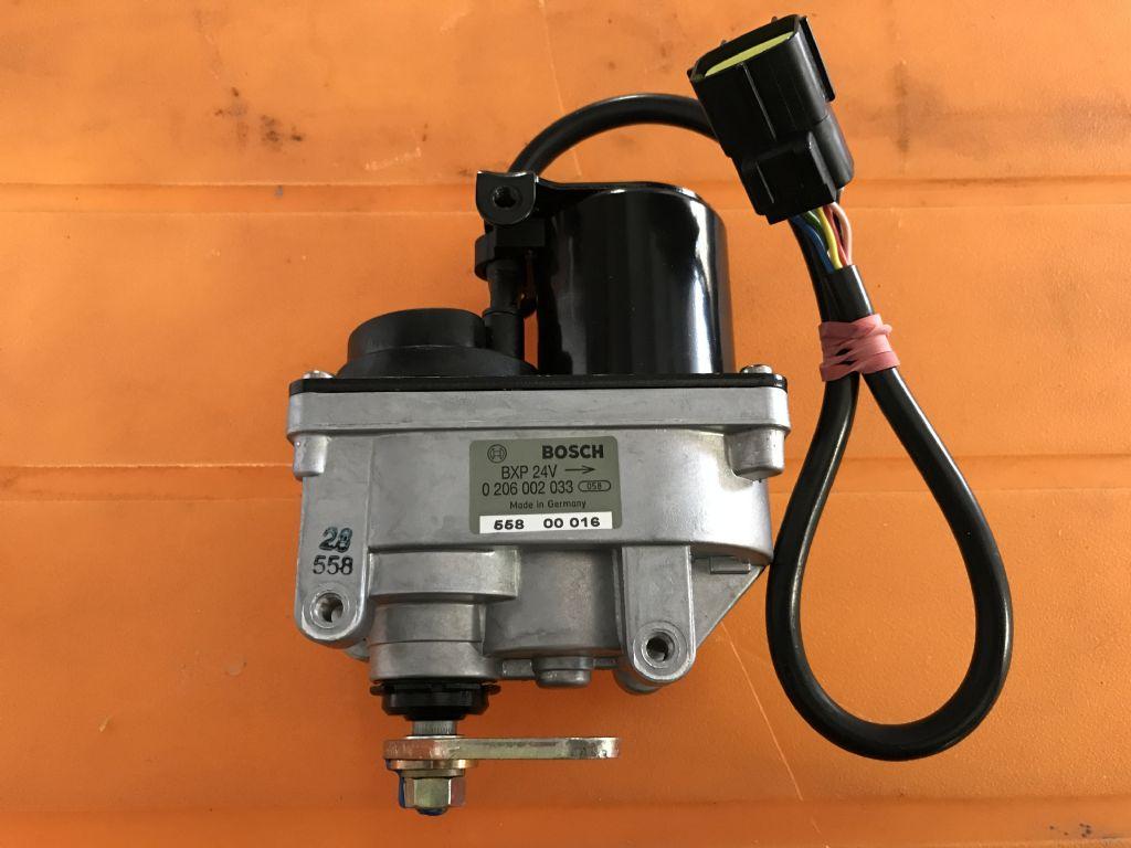 Still-Stellmotor 3M3 0527099  0529163 Bosch 0206002024 + 0206002033-Elektrische Steuerungen und Komponenten-http://www.kriegel-gmbh.de