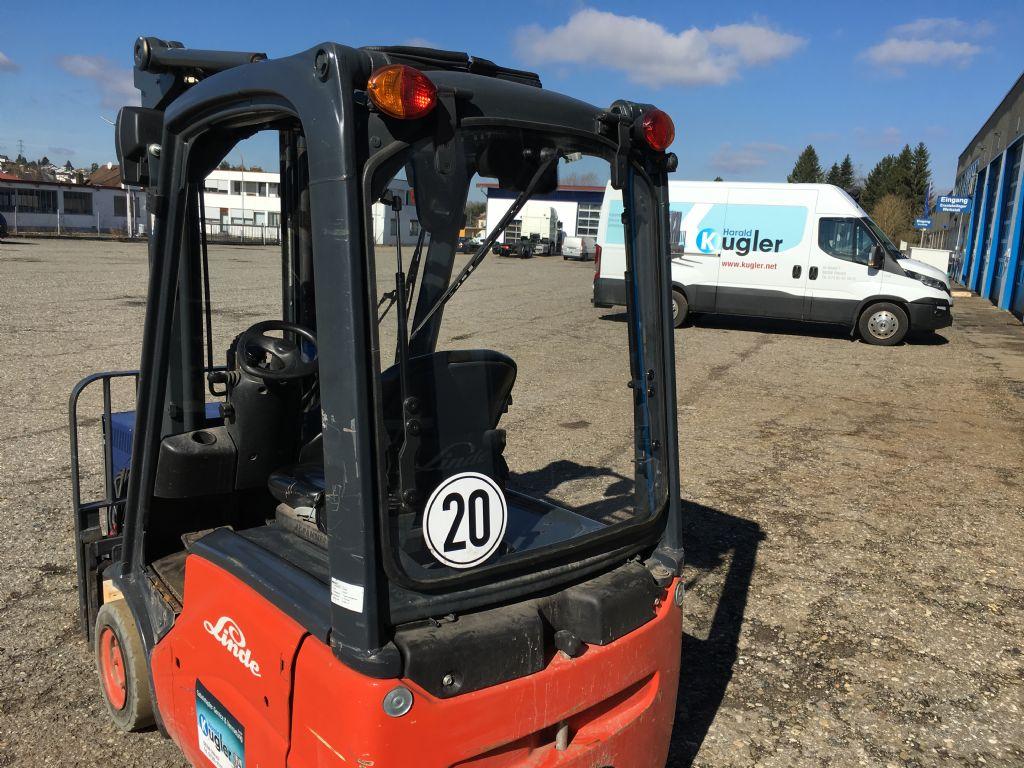 Linde-E14-01-Elektro 3 Rad-Stapler-http://www.kugler.net