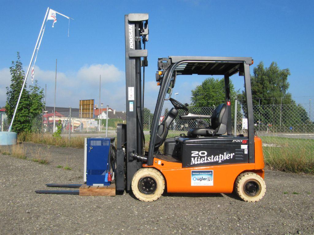 Doosan-B20X-5AC-Elektro 4 Rad-Stapler-http://www.kugler.net