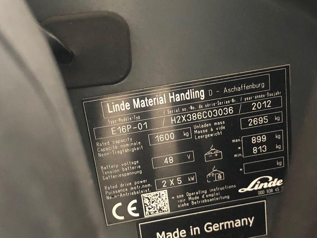 Linde-E16P-01-Elektro 4 Rad-Stapler www.lifthandling.com