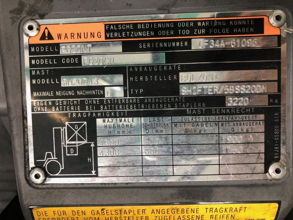 Mitsubishi-FG20NT-Treibgasstapler www.lifthandling.com