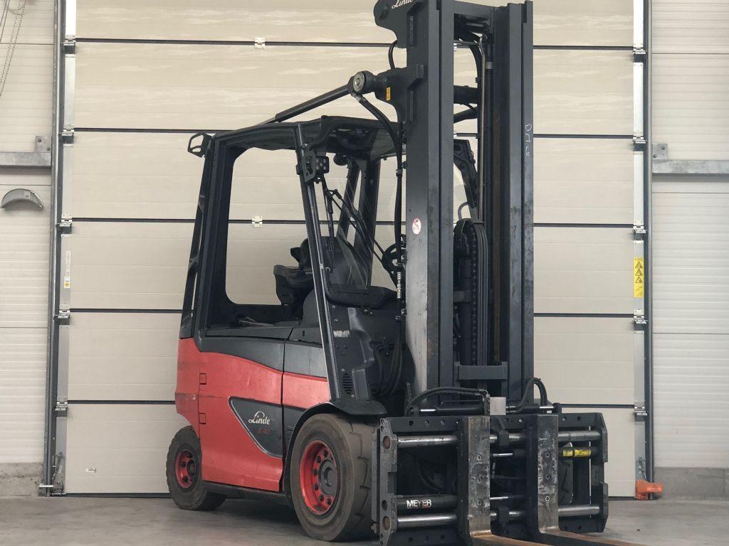 Linde-E40H-01/600-Elektro 4 Rad-Stapler www.lifthandling.com