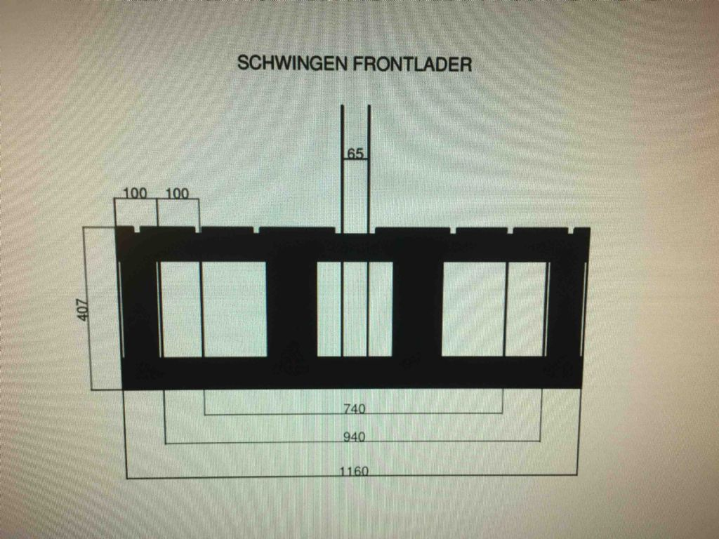 *Sonstige-Schwingengabelträger für Frontlader-Gabelträger-www.mc-stapler.at