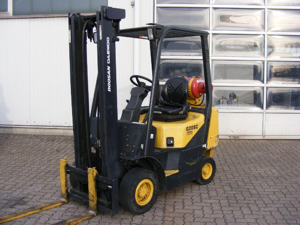 Daewoo-G 20 SC-2-Treibgasstapler-http://www.mengel-gabelstapler.com