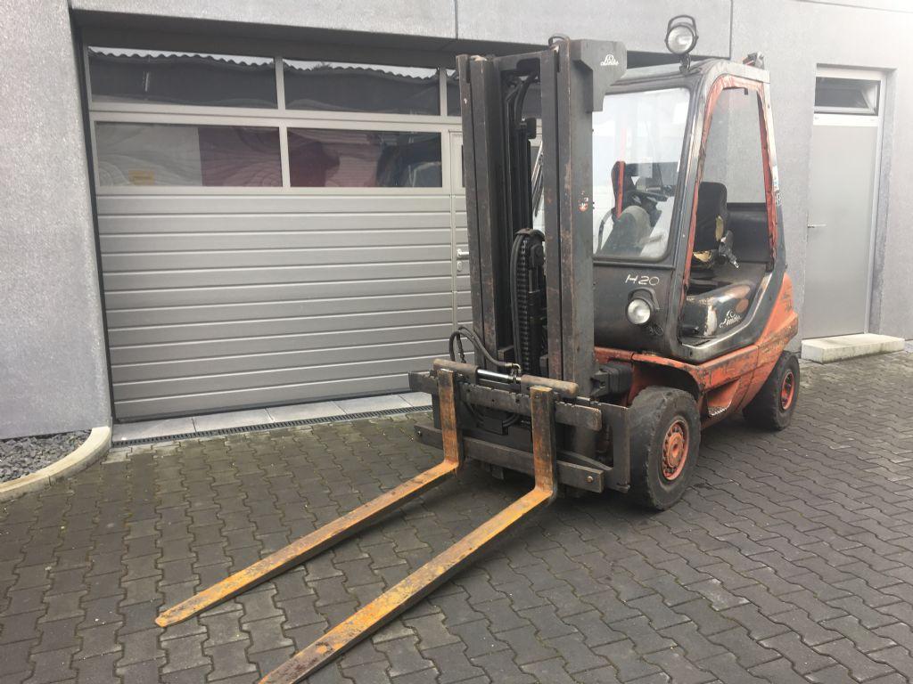 Linde-H 20 D-03-Diesel Forklift-www.mengel-gabelstapler.com