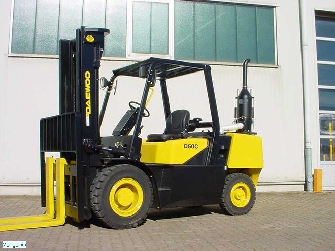 Daewoo-D 50 S-2-Diesel Forklift-www.mengel-gabelstapler.com