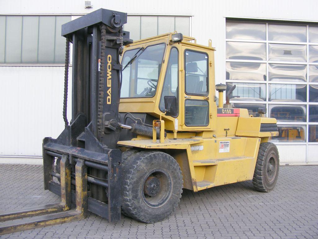 Daewoo-D 150-Diesel Forklift-www.mengel-gabelstapler.com