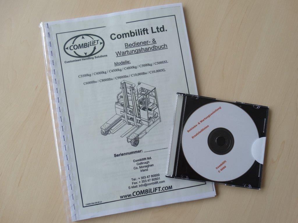 Combilift-C4000 DEMO - Vollfreihub - Freelift-Vierwege Seitenstapler-www.kloz-stapler.de