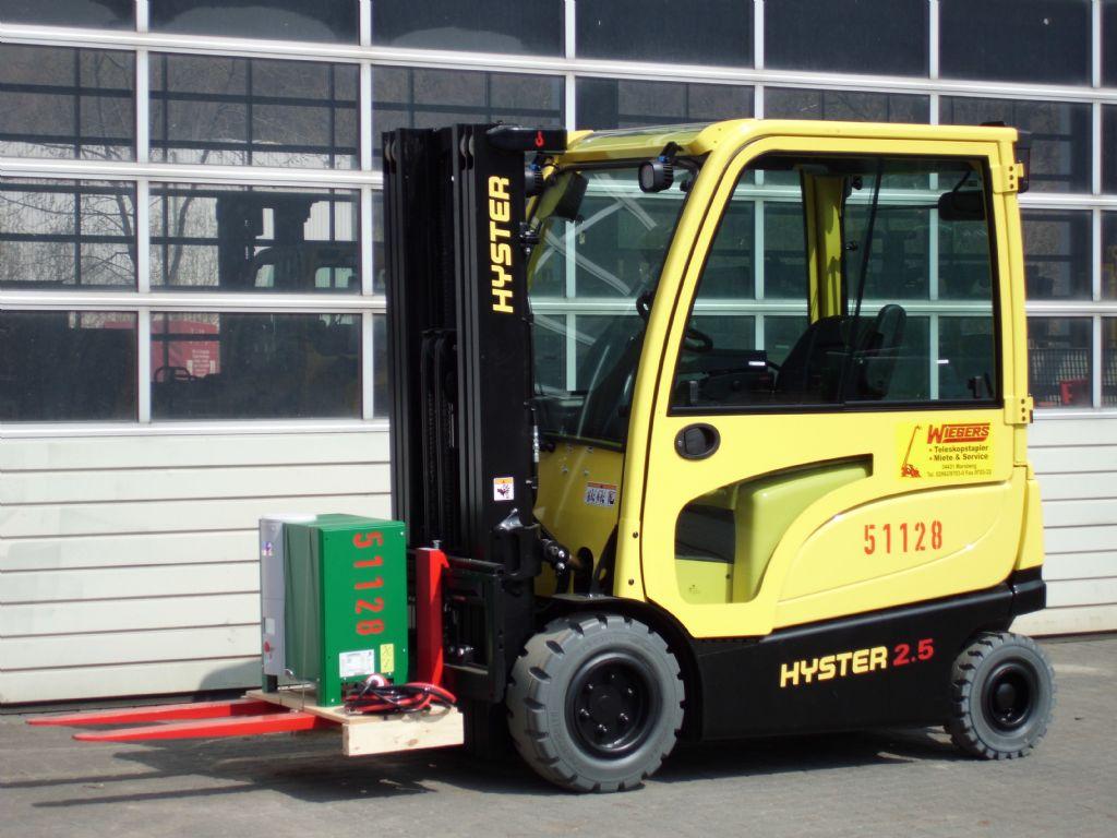Hyster-J2.50XN-Elektro 4 Rad-Stapler-http://www.wiegers-gabelstapler.de