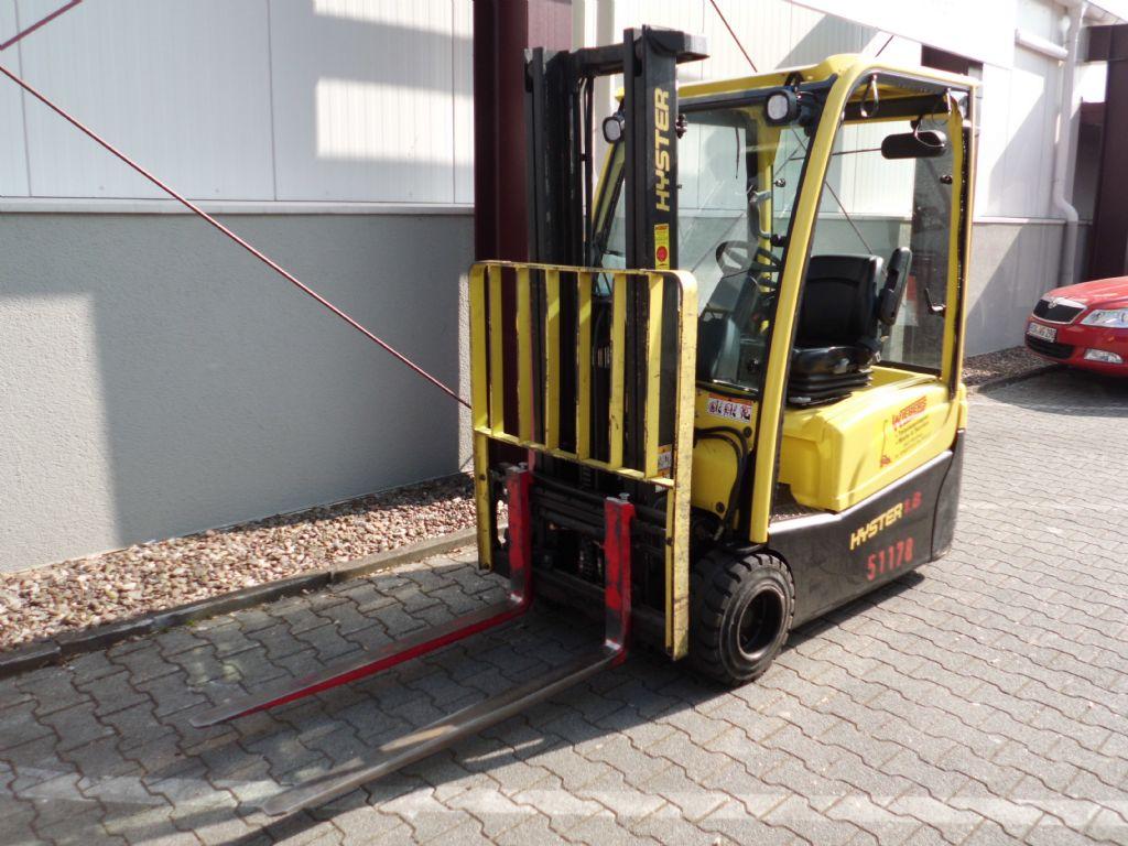Hyster-J1.80XNT-Elektro 3 Rad-Stapler-http://www.wiegers-gabelstapler.de