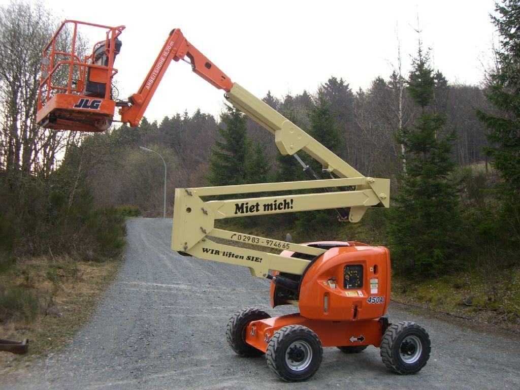 JLG-450 AJ-Gelenkteleskopb�hne-http://www.wilmes-mietservice.de