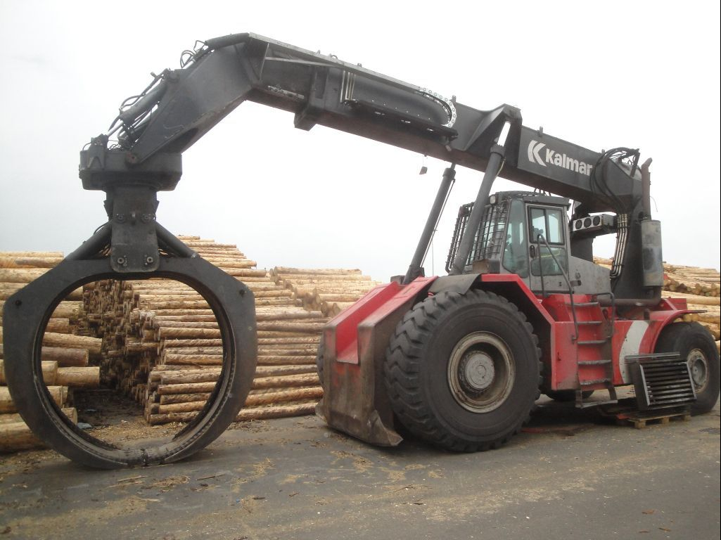 Kalmar-RTD1523LS-Vollcontainer Reachstacker http://www.zeiss-forkliftcenter.at