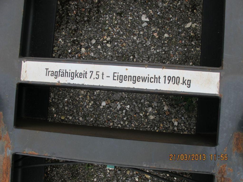 *Sonstige-Drehtainer Stirnspreader-Spreader www.zeiss-forkliftcenter.at