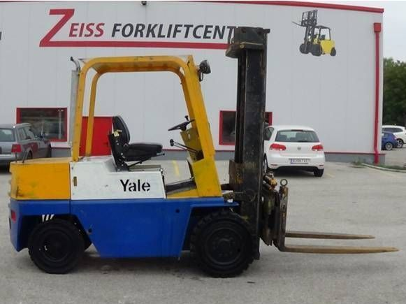 Yale-GDP 080EC-Dieselstapler http://www.zeiss-forkliftcenter.at